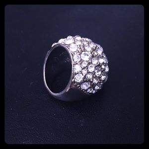 Silver Sparkly Ring